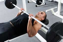 close-grip-bench-for triceps in hindi