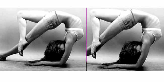 lisa haydon yoga pose