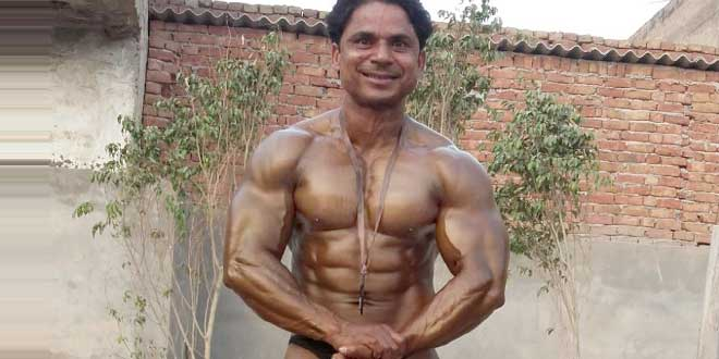 Subhash wins gold in bodybuilding championship