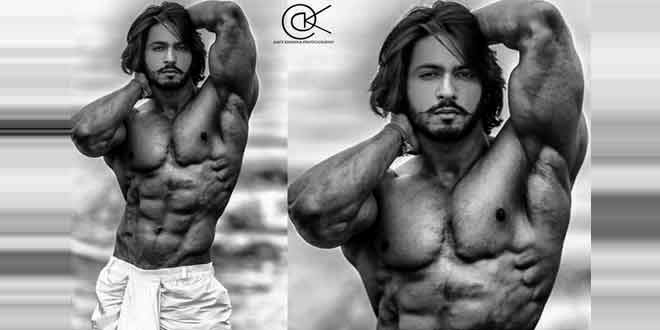 Thakur anoop singh won gold medal in bodybuilding championship. Image courtesy @twitter page of anoop