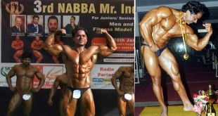 subhash won Nbba bodybuilding championship