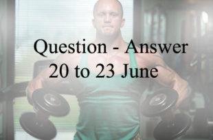 बॉडी बनाने से जुड़ा कोई भी सवाल हो तो पूछें।